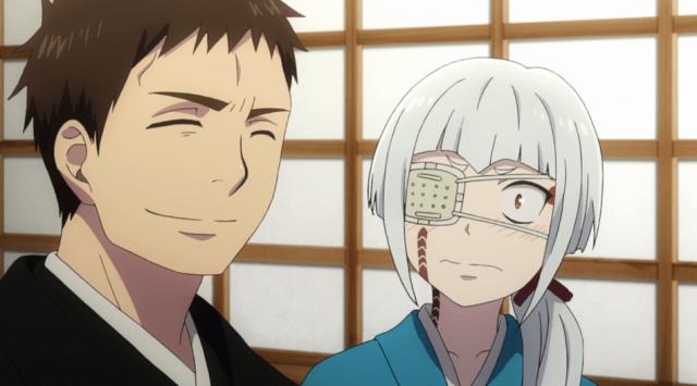 Blue Exorcist Kyoto Saga Episode 12: Juzo just blurted out his proposal to Mamushi