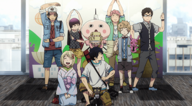 Blue Exorcist Kyoto Saga Episode 12: Rin's friends really support him.
