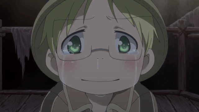 Made in Abyss Episode 3: Riko doesn't want to leave Nat and her friends.