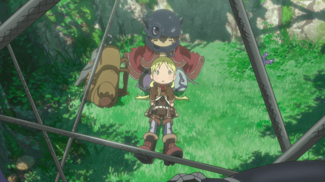 Made in Abyss Episode 4: Regu's arms are really versatile