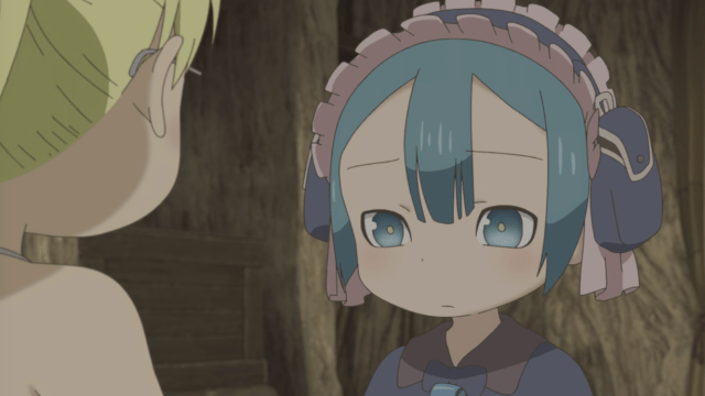 Made in Abyss Episode 6: Marulk is disappointed Riko and Regu are about to leave