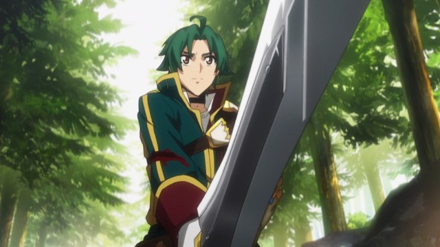 Record of Grancrest War Episode 1: Theo proved he had what it took
