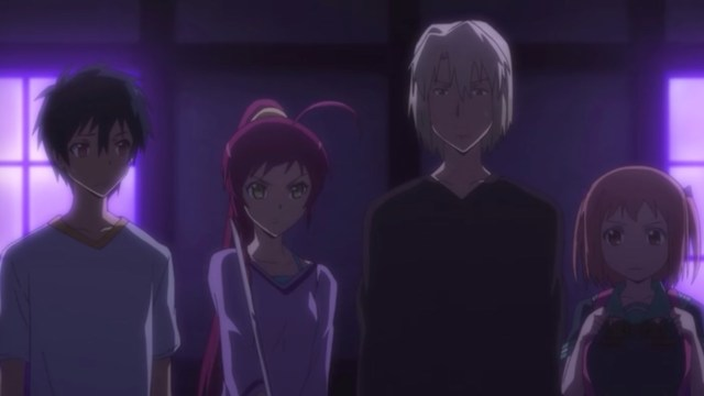 The Devil Is a Part-Timer Episode 6: Our heroes confront the darkened classroom