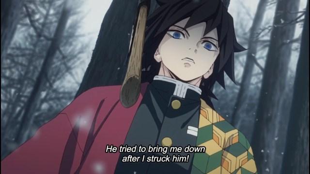 The high quality of Tanjirou's tactics shocked Giyuu