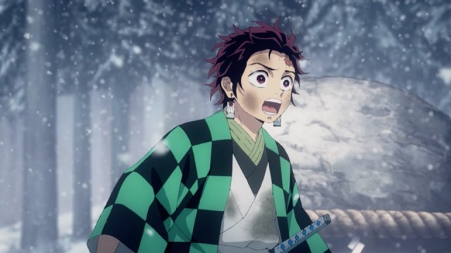 Demon Slayer Episode 3: Winter suits Tanjirou