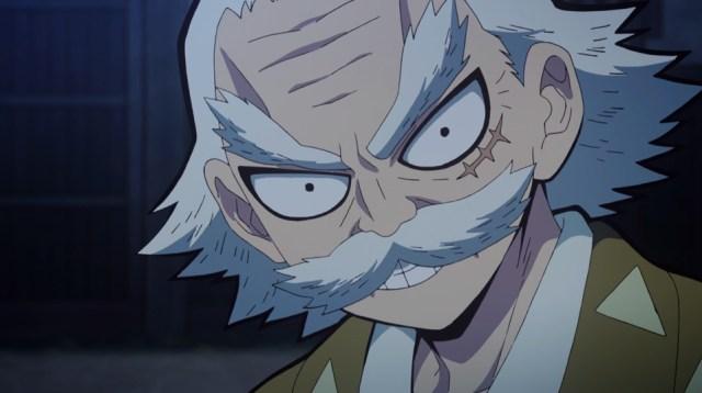 Demon Slayer: Kimetsu no Yaiba Episode 17: Zenitsu's grandpa was a strict teacher