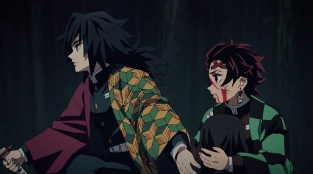 Review of Demon Slayer: Kimetsu no Yaiba Episode 21: Giyuu gets points for trying to protect Tanjirou and Nezuko
