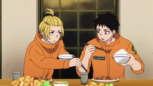 Review: Fire Force Episode 10: Arthur shares his food with Shinra?