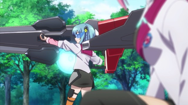 The Asterisk War Episode 2: Saya talks softly and carries a grenade launcher