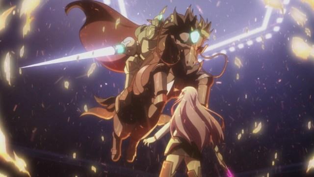 The Asterisk War Episode 18: Lemus fought bravely