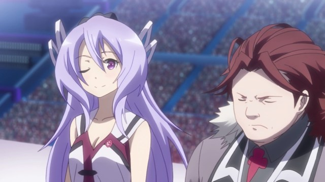 The Asterisk War Episode 21: Sylvia flirts shamelessly.