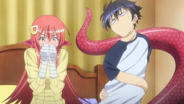 Miia doesn't react well when Darling-kun's hand slips.