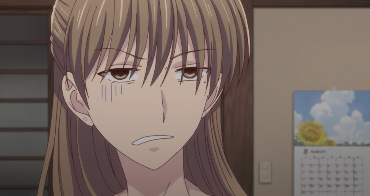 Fruits Basket Season 2 Episode 12: Shiraki was not excited to see Shigure.