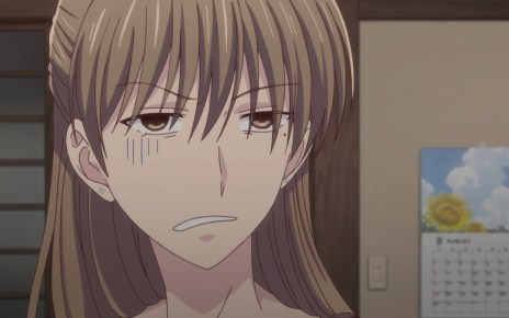 Fruits Basket Season 2 Episode 12: Shiraki was not excited to see Shigure.