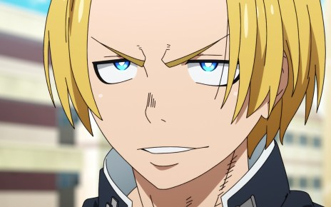 Fire Force S2E2: Arthur talked Shinra back to sanity. So to speak.