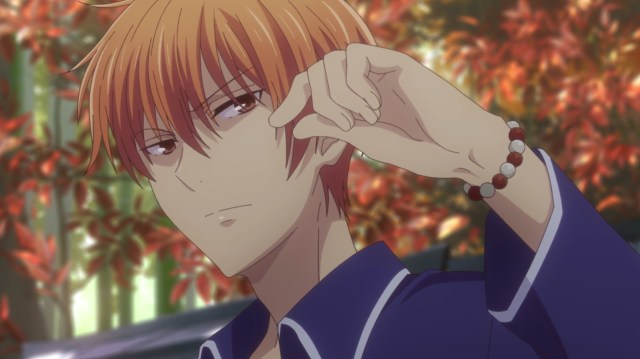 Fruits Basket Season 2 Episode 17: Seriously, Kyo could have been a little less blunt.