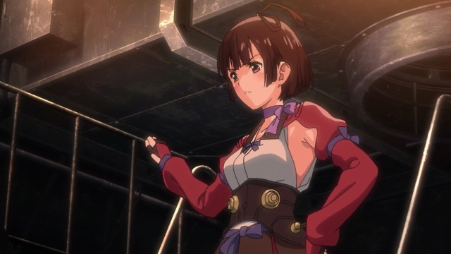 Kabaneri of the Iron Fortress Episode 5: Mumei feels like she needs to prove herself