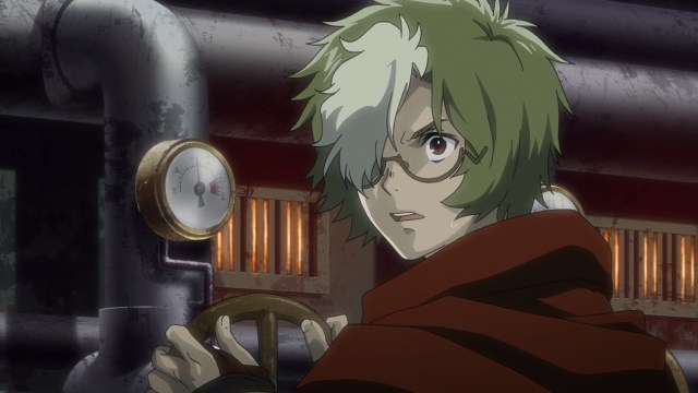 Kabaneri of the Iron Fortress Episode 5: Ikoma can't believe the Black Smoke is alive.