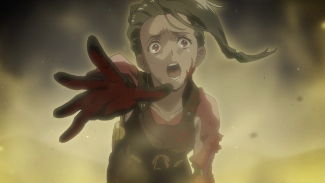 Kabaneri of the Iron Fortress Episode 6: Mumei remembers a comrade falling in battle