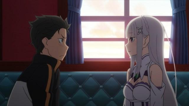 Re:ZERO Episode 27: Subaru and Emilia almost share a moment