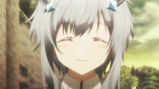 The Misfit of Demon King Academy Episode 4: Misha's smile is simply beautiful.