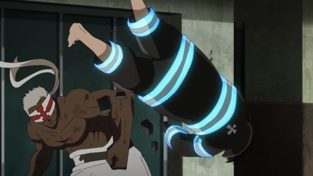 Fire Force Season 2 Ep 5: Shinra wasn't the only one who could take a beating. Charon could, too.
