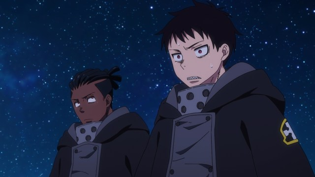 Fire Force Season 2 Ep 7: The little fires were all Infernals. That shocked Shinra and Ogun.