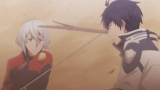The Misfit of Demon King Academy Episode 5: Anos fights well with just a stick.