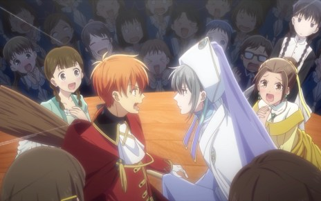 Fruits Basket Season 2 Episode 23: Yuki as a fairy godmother...