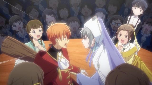 Fruits Basket Season 2 Episode 23: Yuki as a fairy godmother...
