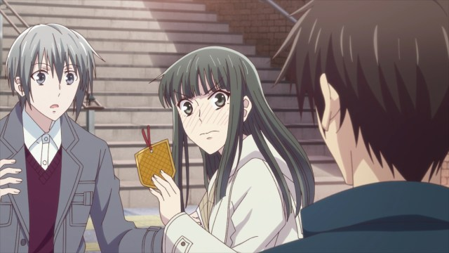 Fruits Basket Season 2 Episode 24: Machi turned out to be tsundere. Who knew?