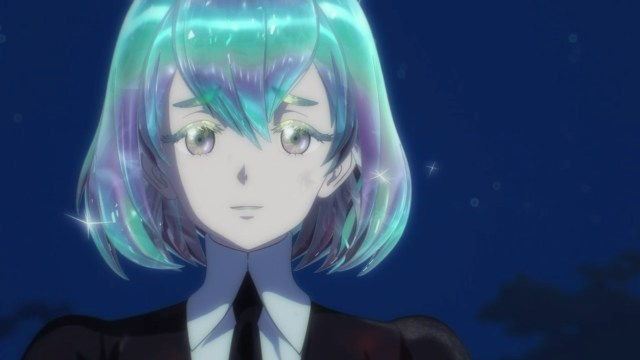 Land of the Lustrous Episode 3: Diamond's smile is as powerful as a strategic weapon