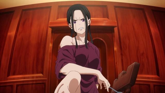 Fire Force Season 2 Ep 19: Maki's mom Madoka is fierce