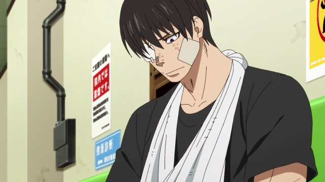 Fire Force Season 2 Ep 19: Takigi realizes how dangerous the White Clad are