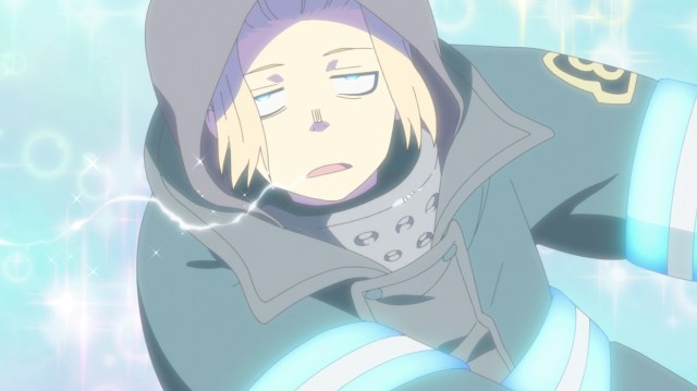 Fire Force Season 2 Ep 22: Arthur's sword attains the realm of