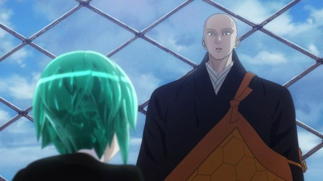 Land of the Lustrous Episode 6: Kongou cannot believe his ears