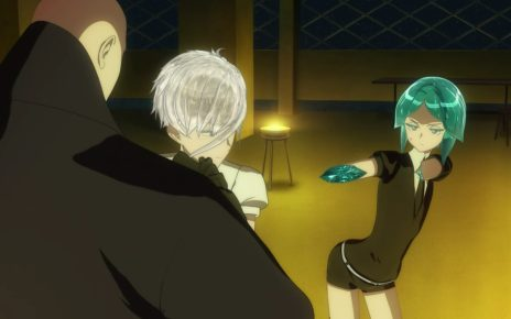 Land of the Lustrous Episode 8: Phos had no idea where the Chord Shore was.