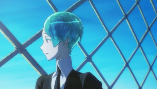 Land of the Lustrous Episode 9: Phos had a rough winter.