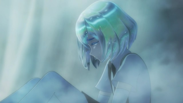Land of the Lustrous Episode 10: Diamond had to answer why they thought they were