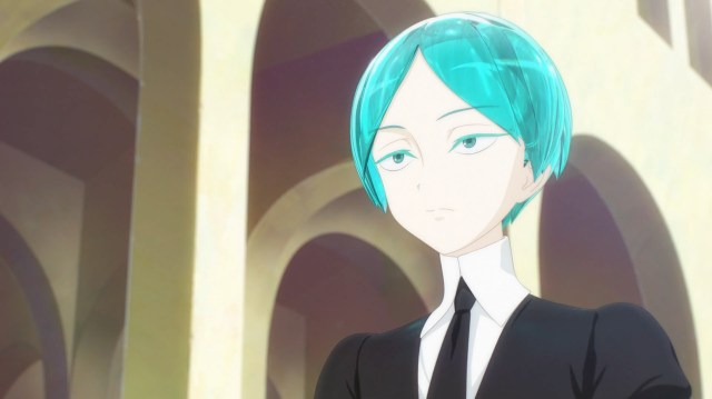 Land of the Lustrous Episode 12: The Phos of now is very different than the Phos of episode 1