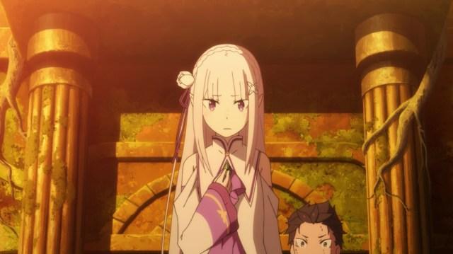 Re:ZERO Season 2 Part 2 Episode 41: Emilia didn't protect Subaru
