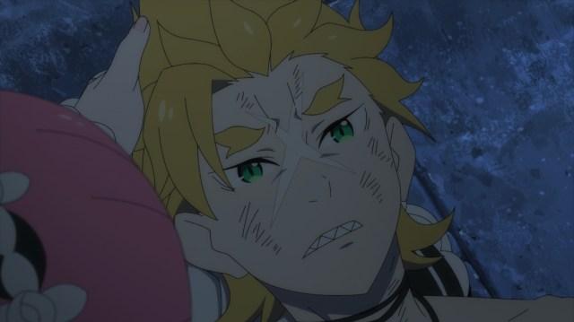 Re:ZERO Season 2 Part 2 Episode 41: Garfiel wakes up in Ram's lap