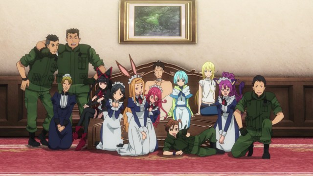 Gate Thus The JSDF Fought There Episode 7: Someone's having fun!
