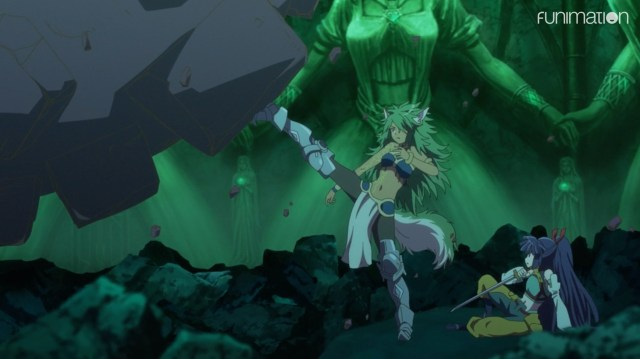 Log Horizon: Destruction of the Round Table Episode 12: Lelia did her part.