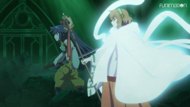Log Horizon: Destruction of the Round Table Episode 12: Akatsuki had no problem supporting Minori.