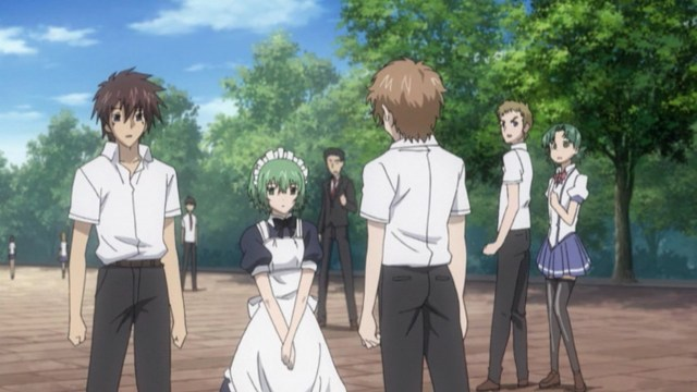 Demon King Daimao Episode 6: Korone looked cute as a maid