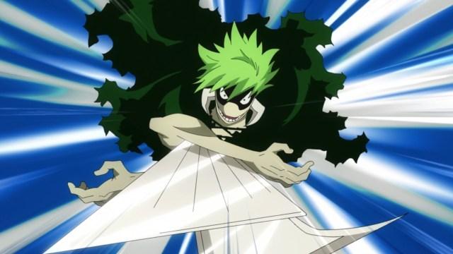 My Hero Academia Season 5 Episode 97: Kamakiri moved in to trap Jirou, Seto, and Setou.