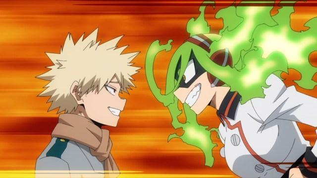 My Hero Academia Season 5 Episode 102: On the other hand, Burnin _does_ seem to impress Bakugou!