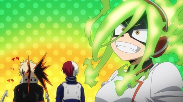 My Hero Academia Season 5 Episode 103: Burnin is a professional Hero, and she couldn't follow Midoriya's ramblings!
