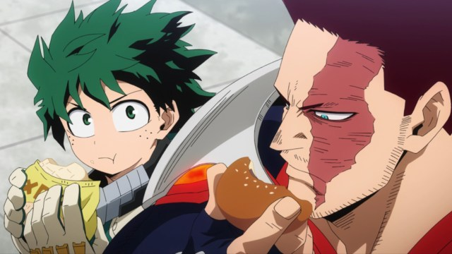 My Hero Academia Season 5 Episode 103: Endeavor turned out to be a great mentor.